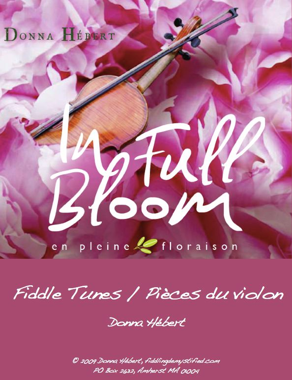 In Full Bloom CD & Tunebook - Donna Hebert - DOWNLOAD